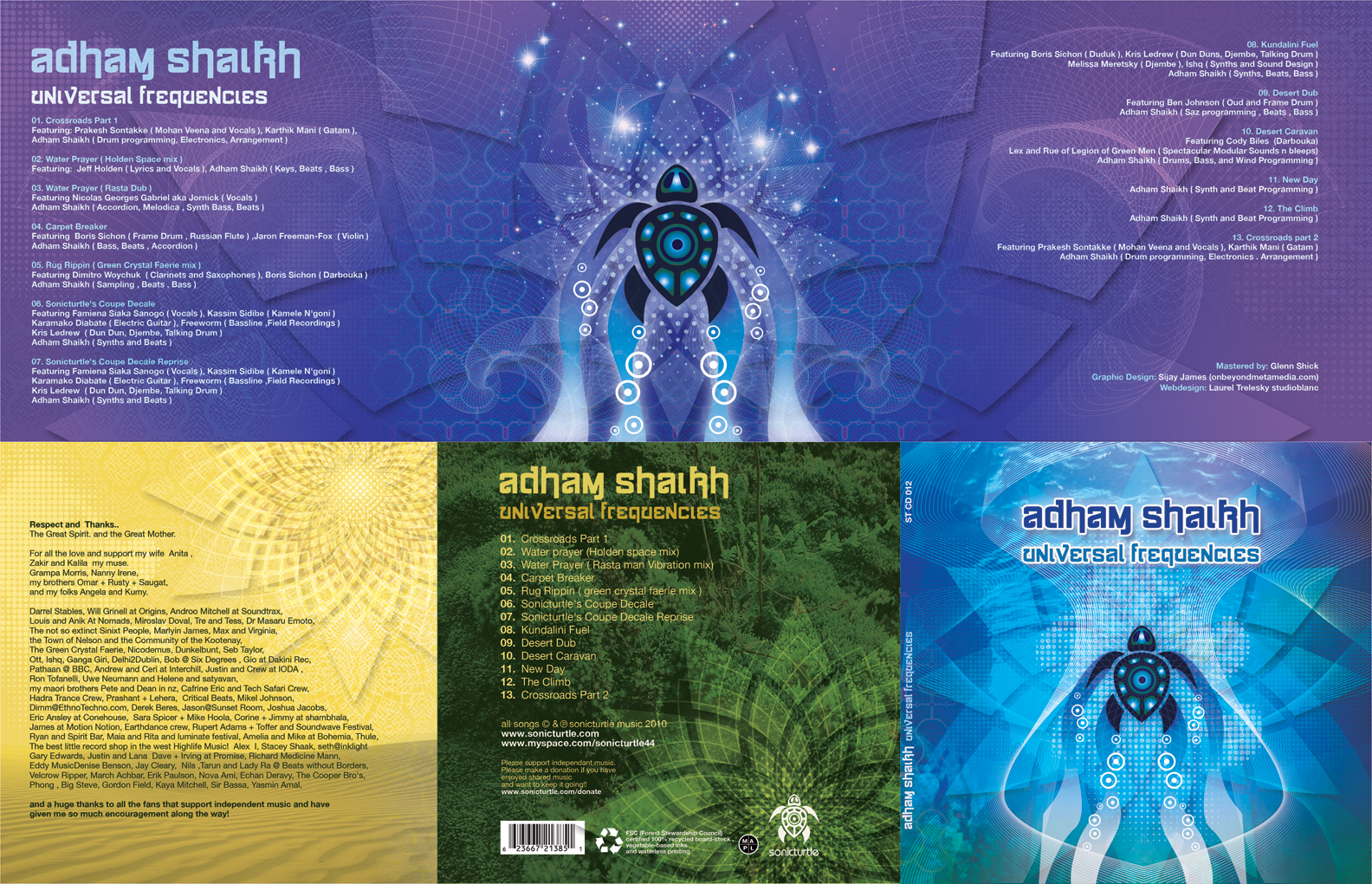 Adham Shaikh | Universal Frequencies